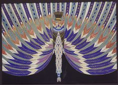 Erté - Erte - RT - Romain de Tirtoff - Illustration - Le Nil, 1926