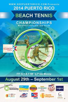 2014 Puerto Rico Beach Tennis Championships @ Isla Verde #sondeaquipr #prbeachtennischampionships #courtyardbymarriott #islaverde #carolina #deportespr