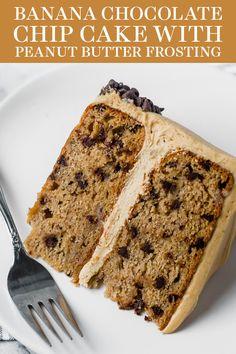 Homemade Cake Recipes, Best Cake Recipes, Banana Recipes, Cupcake Recipes, Cupcake Cakes, Dessert Recipes, Cupcakes, Cupcake Frosting, Buttercream Cake