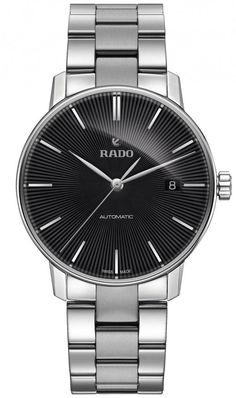 Rado Watch Coupole Classic L #add-content #bezel-fixed #bracelet-strap-steel #brand-rado #case-material-steel #case-width-38mm #date-yes #delivery-timescale-call-us #dial-colour-black #gender-mens #luxury #movement-automatic #official-stockist-for-rado-watches #packaging-rado-watch-packaging #style-dress #subcat-coupole #supplier-model-no-r22860153 #warranty-rado-official-2-year-guarantee #water-resistant-50m