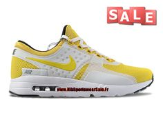 Nike Air Max Zero Chaussure Mixte Nike Sportswear Pas Cher (Taille Homme) Jaune