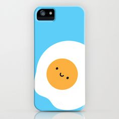 Kawaii Fried Egg iPhone Case by Marceline Smith - $35.00