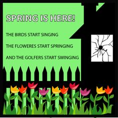 Golf Humor: Spring Is Here