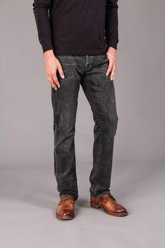 Raven 5 Pocket Straight Denim Jeans