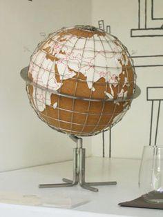 original cork globe