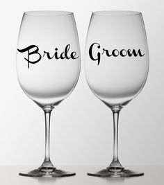 VINYL DECAL DIY Color Initial Names And Date Decals For Wine - Diy vinyl decals for wine glasses