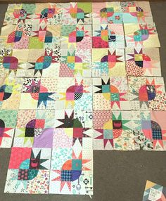 One Wee Bird: Half Rec Quilt - Not A Glamorous Name!