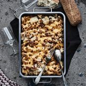 Mac and cheese kukkakaalista Mac And Cheese, Gluten Free Recipes, Free Food, Waffles, Pasta, Bread, Cooking, Breakfast, Drinks
