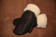 Deerskin Leather Mitt