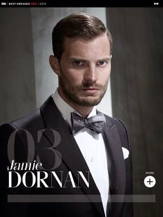 Mr Grey - Mr Handsome. SEXIEST MEN ALIVE. Lady killer. http://the50shadesofgreypdf.org/9-reasons-why-mr-grey-is-a-hit-with-women/ https://www.pinterest.com/50shadeslive/ Jamie Dornan