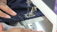 PUTTING IN A SLEEVE IN A a blouse - YouTube
