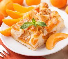 Marhuľový koláč je chutnou sladkou dobrotou