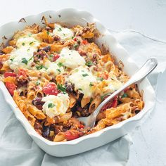 Ovenschotel chili con carne met pasta - Leuke recepten Healthy Breakfast Recipes, Healthy Eating, Healthy Recipes, Dutch Recipes, Cooking Recipes, Cooking Ideas, Recipes From Heaven, No Cook Meals, Pasta Dishes
