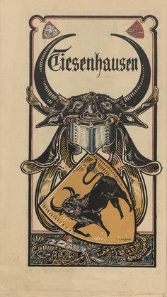 https://archive.org/details/genealogicalmaga5190unse Tiesenhausen