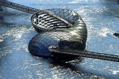 Viaggi di Architettura - Architettura, ingegneria e design di ponti pedonali