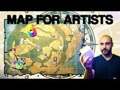 Ahmed Aldoori, Just Do It, Art Tutorials, Challenges, Map, Baseball Cards, Portrait, Artist, Youtube