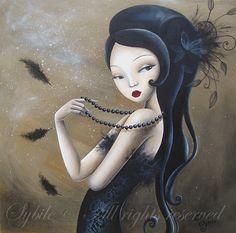 Lady Sybile – Acrílicos Encantados | | Uno De Los Nuestros