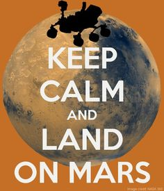 #curiosity #msl We've landed on Mars ... again