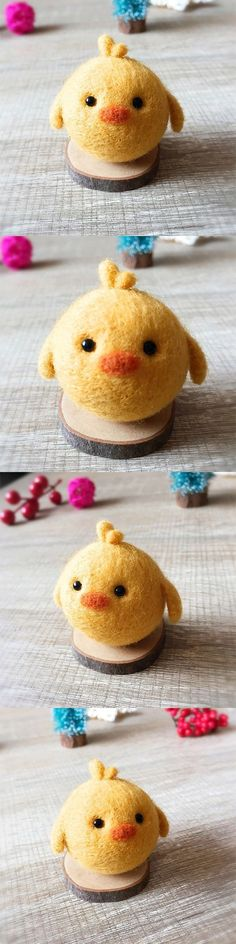Handmade Needle felted felting kit project Woodland Animals chicken cute for beginners starters #tennisforbeginners #tennistipsforbeginners