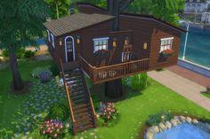 Blackys Sims 4 Zoo: Ulmen house by MadameChaos – Loft İdeas 2020 Sims 4 House Plans, Sims 4 House Building, Sims 4 Mods, Sims 3, Sims 4 Family, Sims 4 House Design, Casas The Sims 4, Sims Four, Sims 4 Build