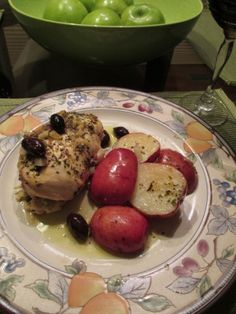 Greek Style Chicken with Spinach, Artichoke, and Feta