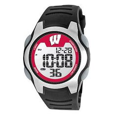 Wisconsin Badgers Training Camp Series Watch with Multiple Digital Functions