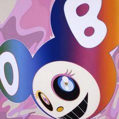 Takashi Murakami 'Mr Dob and the rainbow'