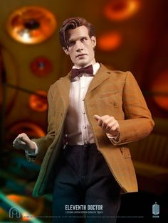 CRAZY realistic Dr. Who Figurines