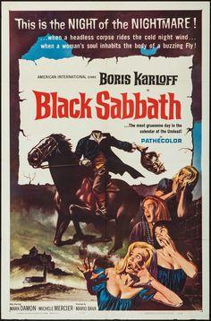 "Black Sabbath (American International, 1964). One Sheet (27"" X 41"")."
