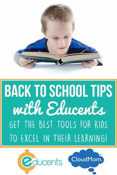 Make the transition back to school smoother with Educents rich online of educational resources. AD