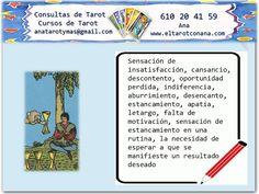 Los Menores del Tarot: CUATRO DE COPAS Tarot Significado, Tarot Gratis, Love Tarot, Witches, Backyard, Spirituality, Breakfast Nook, Amor, Tarot Spreads
