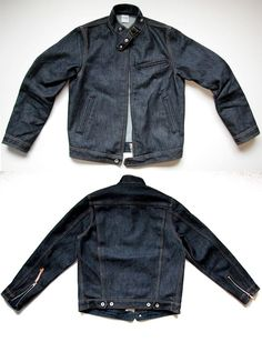 IH Indigo Riders Jacket - Self Edge