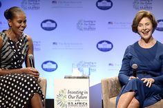 First Ladies: Picking Their Causes - Bloomberg