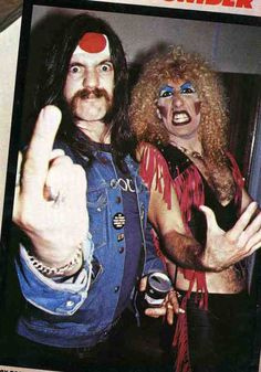 Lemmy & Dee Snider..
