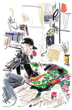 Artist Damien Cuypers at Illustration Division Name Drawings, Crayon Drawings, Illustration Sketches, Graphic Design Illustration, Oil Pastel Art, Art Sketchbook, Aesthetic Art, Book Design, Art Inspo