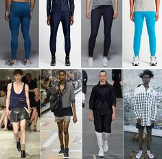 """The future of fashion is gender-freeThe pants above represent the future of fashion.Not because they're made with high-tech innovation. Not because they represent the fitness-minded """"athleisure"""" trend. But because you really can't tell which ones are for men, and which are for women. Genderless clothing hasbeen in the air for months, especially on runways — but a new report has given it even more legitimacy."""