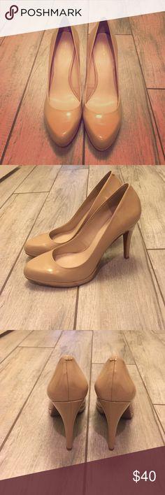 Nine West nude pumps Nine West nude pumps. Never worn! Nine West Shoes Heels
