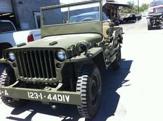 The WWII Jeep I restored