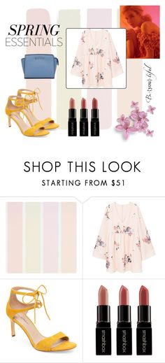 """Spring"" by claudika on Polyvore featuring MANGO, Via Spiga, Smashbox, MICHAEL Michael Kors and Spring2017"