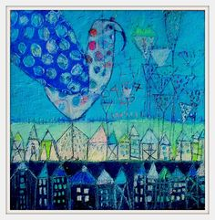 - Photo de AAA 2014 Works on board - Elke Trittel Art Art Texture, Creation Art, Art Populaire, Art Corner, Art Sculpture, Wow Art, Naive Art, Outsider Art, Mix Media