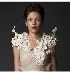 It's all about the details Simple. Elegant. 2014/2015 Krikor Jabotian collection.