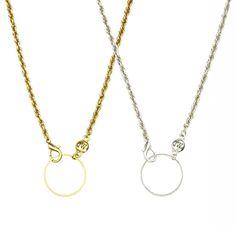 John Wind Jewelry Necklace Eyeglass Holder Charm Chain #JohnWind #Pendant