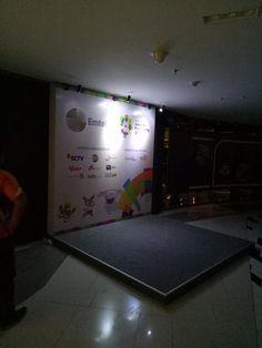 Exhibition Stand Design, Read News, Jakarta, Backdrops, Flooring, Wattpad, Backdrop Event, Blog, Exhibition Stall Design