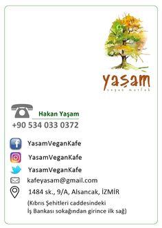 Tasarım: Temmuz 2017, Bora Şahinkara, Yaşam Vegan Kafe için.
