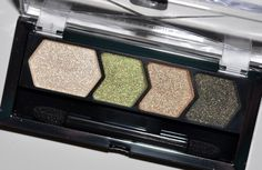 Maybelline Eye Studio Green with Envy Eyeshadow Quad Review, Photos, Swatches
