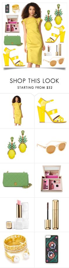 """Rachel Comey Studio Dress..**"" by yagna ❤ liked on Polyvore featuring Rachel Comey, Laurence Dacade, Elizabeth Cole, Le Specs, Chanel, Nomess, Guerlain, Vita Fede and Zero Gravity"