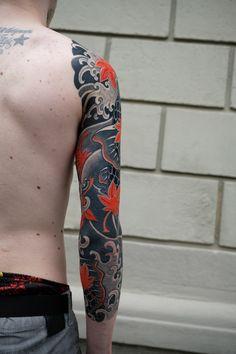 Japanese Tiger Tattoo, Japanese Tattoo Designs, Japanese Sleeve Tattoos, Dragon Tattoo Pictures, Tattoo Photos, Dragon Head Tattoo, Arm Tattoo, Tatuagem Trash Polka, Ganesha Tattoo