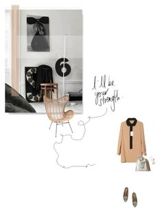 """""""Here for you"""" by jemimap ❤ liked on Polyvore featuring CÉLINE and Monki"""