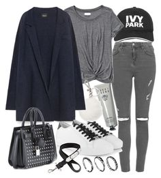 Untitled #19800 by florencia95 on Polyvore featuring Zara, Abercrombie & Fitch, Topshop, Michael Kors, Yves Saint Laurent, DesignSix, Ivy Park, Givenchy and Bobbi Brown Cosmetics