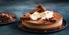 This decadent no bake chocolate cheesecake has two beautiful layers and a delicious Tim Tam crust.